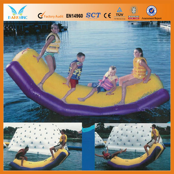 0.9mm PVC Water toy with safety weld and 4 stitchs