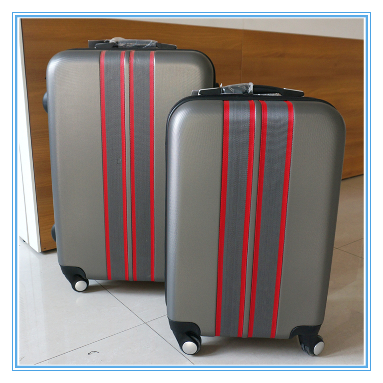 Plastic Luggage Suitcase Set Travel Trolley Bag