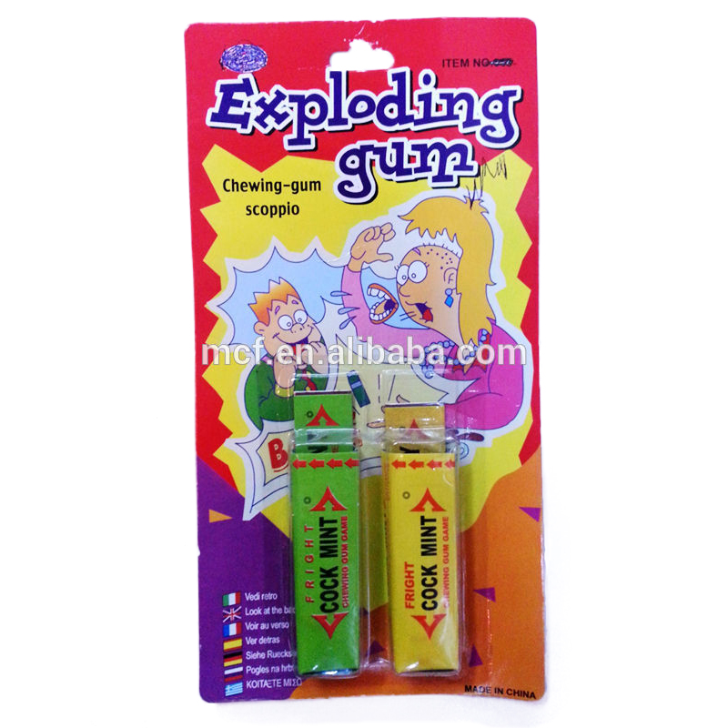 Party Halloween prank toys shock chewing gum HAL-0060