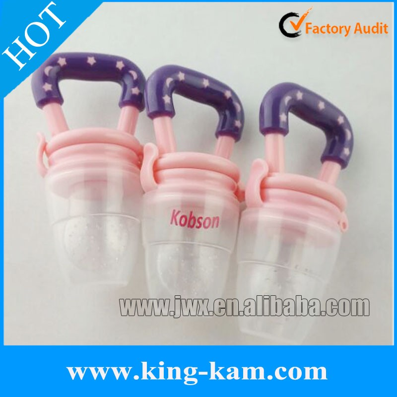 Hot sale BPA free silicone fruit nipple for baby