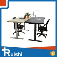 Electric Height Monitor Metal Material Professional Table Stand