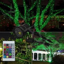 outdoor christmas star lights green color star light for house/ tree/ decorate/lawn/forest
