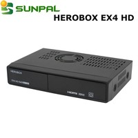 full hd receiver 2016 new Enigma2 linux Herobox EX4 HD dvb-S2+C+T2 combo bcm7362 processor