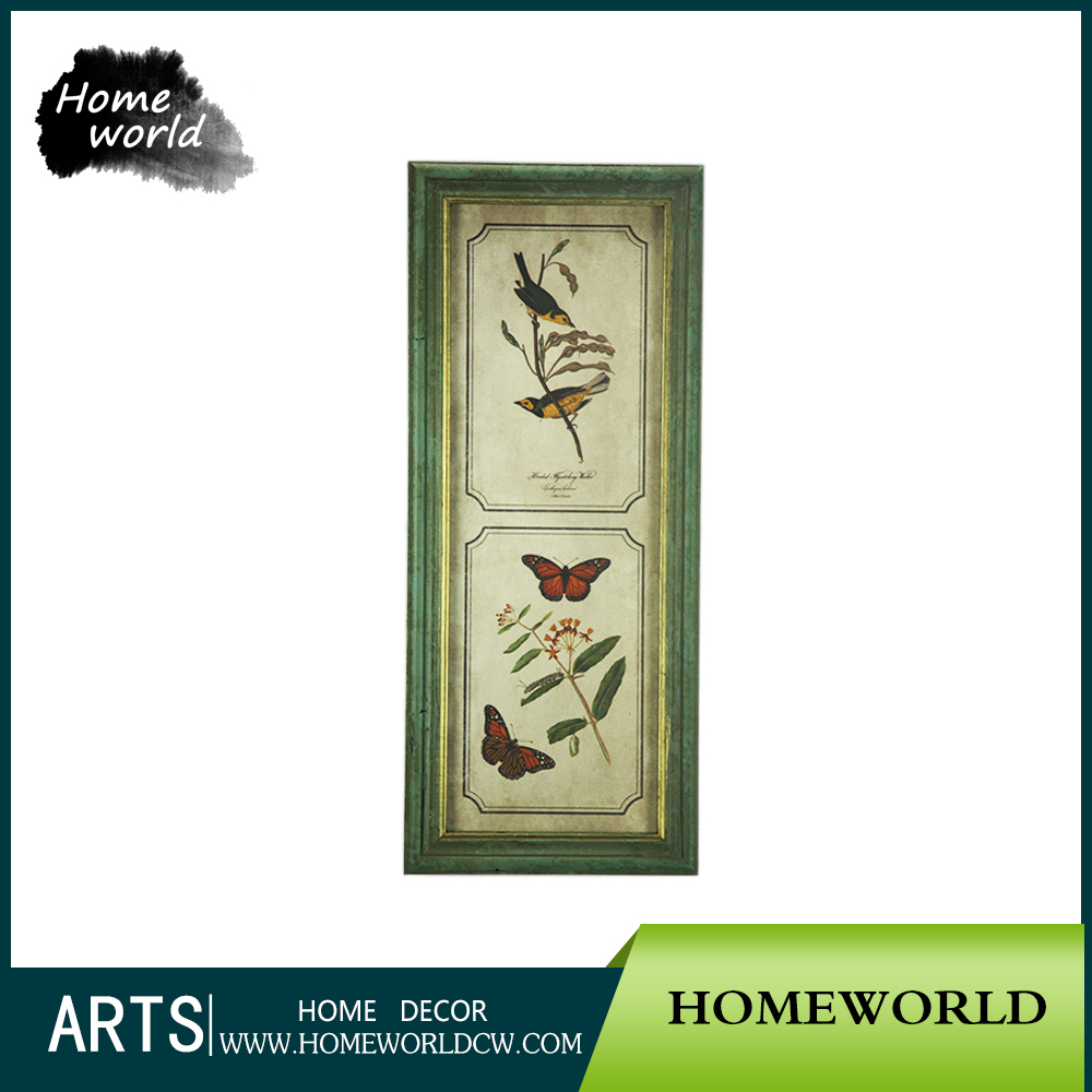 Beautiful Modern Home Decor Animal Images Painting of Handmade Wall Hanging