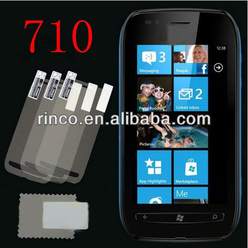 New Clear LCD Flim Screen Protector For Nokia Lumia 710