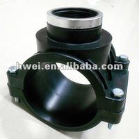 PP Compression Fitting Pipe Clamp Saddle