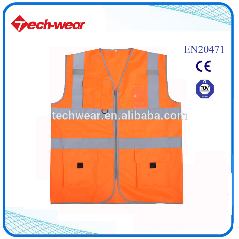 Best quality promotional reflective vest high price
