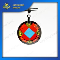 wholesale perfect millenium cut colorful cz gem