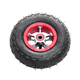 Alloy rims 5 6 7 8 9 10 inch golf cart scooter pneumatic rubber wheels