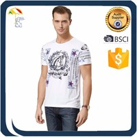 high quality 2016 fashion custom 100% cotton printing Men's polo T-Shirts for sale