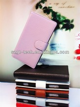 Hot selling flip cover case for nokia lumia 920 leather case