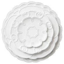Jacotta wholesale embossed bulk wedding <strong>plates</strong>
