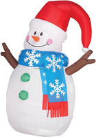 wholesale 2014 new Christmas decoration inflatable snowman