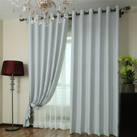 cheap price ready made faux silk hospital curtain