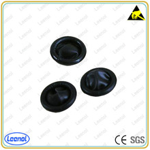 LN-8103 Black Color Latex Finger Cots With Antistatic Function