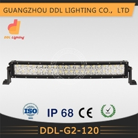 truck led lighting accessories 120w curved light led automotive light bar head lamp