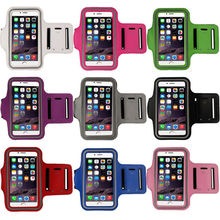 Gym Running Jogging Sports Armband Exercise Case Cover Sport Arm Band For iPhone 6 plus