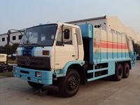 Dongfeng 6*4 refuse compactor garbage truck 210 hp 16 cbm