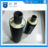 PU rigid foam insulation filled hdpe jacket pre insulated heating pipes for hot water
