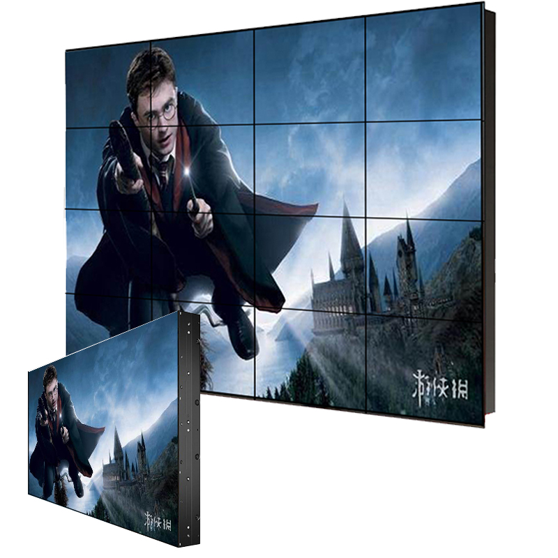 4*4 Network matrix lcd video wall with multi screen play <strong>advertising</strong>