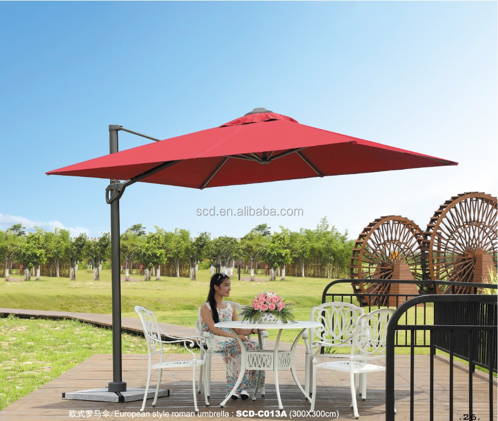 Outdoor Hotel General Use Garden Umbrella