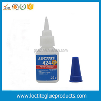 low viscosity super glue, plastics & rubber fast bond EPDM adhesive, loctite 424 20g 25ml instant adhesive