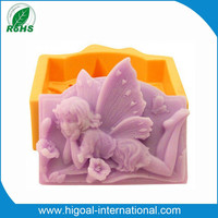 Food grade silicone reborn doll mold for cake cookies soap and jelly