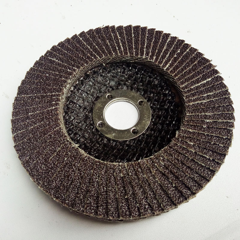 China supply of the the Calcination Brown Fused Alumina flap disc machine grinding disc