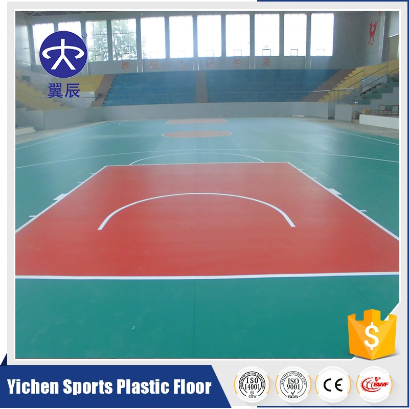Indoor Removable Basketball Court Flooring