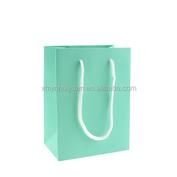Chrome Paper Jewelry Packaging Hand Bag