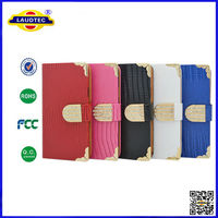 For samsung galaxy S5 Magnetic Diamond Wallet Leather Flip Case