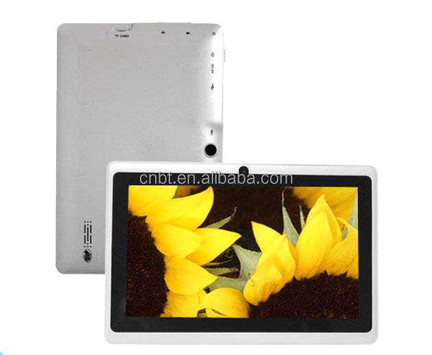 Cheap 7 inch tablet custom android tablets 1024*600 LCD screen tablet 6.0 android 7 quad core Allwinner A33