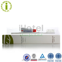 OEM Disposable Mini Travel Toothbrush with 5g Clogate Toothpaste