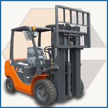 3t counterweight diesel forklift exporters with imported japan isuzu engine