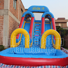 Hot selling big water slides for sale,giant inflatable water slide for adult,commercial inflatable water slide clearance