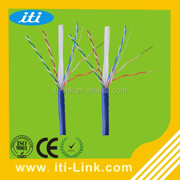 Networking cable utp cat6e lan cable 4pr 23awg,cat6 kabel jaringan