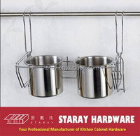 HCJ232 Kitchen stainless steel spoon knife holder rack