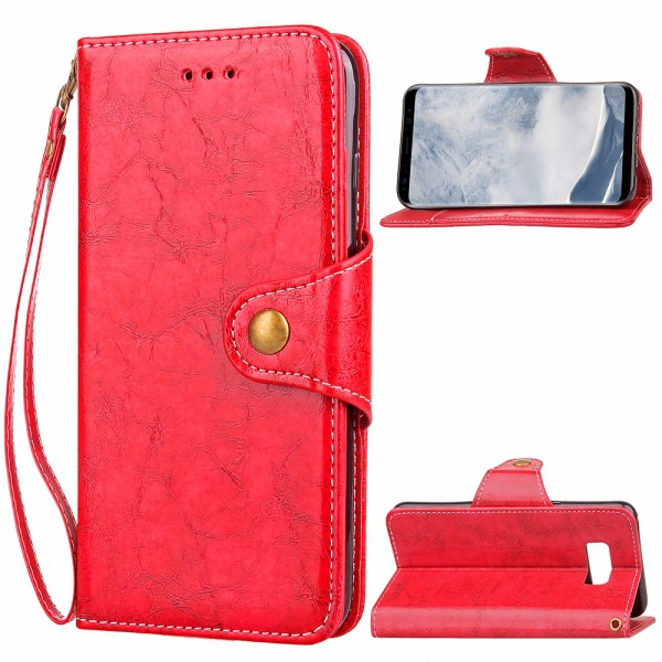 Hot Sales For Samsung J3 J5 J7 2017 Megnetic Wallet Case Leather Flip Cover For Samsung Galaxy S8 A5 A7 A8 2018 S9 Plus