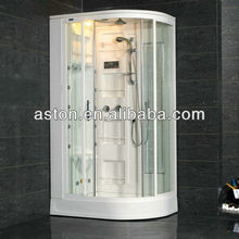 luxury steam shower ,computer controlled steam shower room with FM/CD