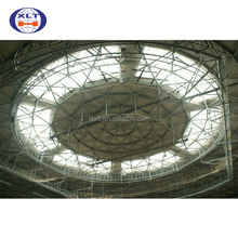 Free Design Prefabricated Steel Structure Curved Roof Truss Sports Hall stadium