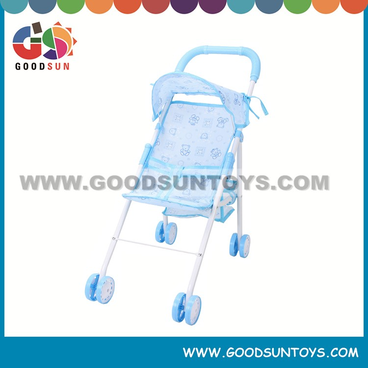 Hot selling high quality toy doll carriage baby carriage pram doll strollers