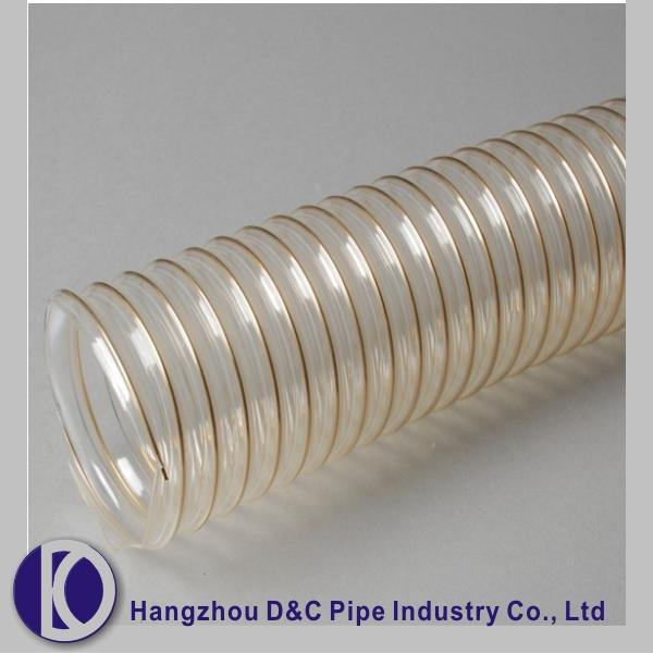 Air conditioning vent hose pvc flexible conduit plastic