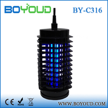 Garden Blue Light insects pest reject with night light mosquito repellent spray device to kill mosquitoes