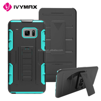 New arrival hybrid heavy duty phone case new kickstand holster case for samsung note 7
