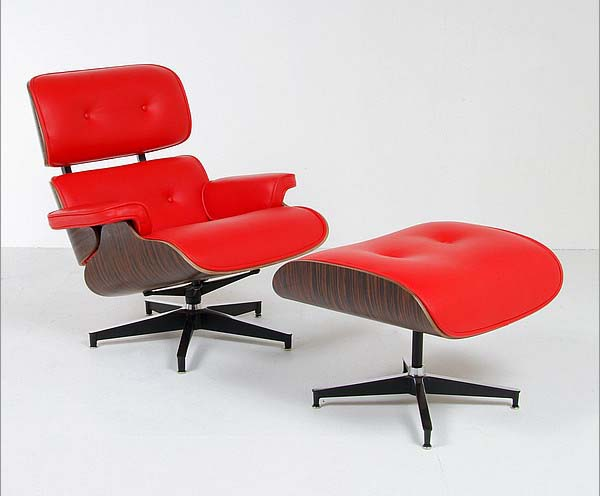 jeames Style Lounge Chair and Ottoman