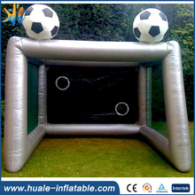 Best selling inflatable soccer shoot out/inflatable soccer dummy/soccer goal with target