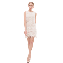 Plus Size Ladies Designed Elegant Tunic Lace Crochet Bodycon Shift Party Evening Career Pencil Dress Lady Dress