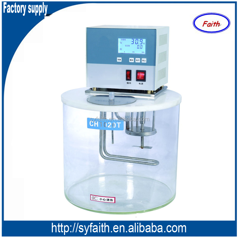 Cheap circulating laboratory water bath for viscometer