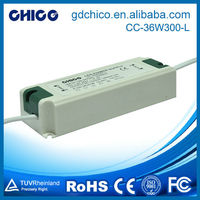CC-36W300-L LED Indoor commercial lighting input 100-240VAC dimmable led driver