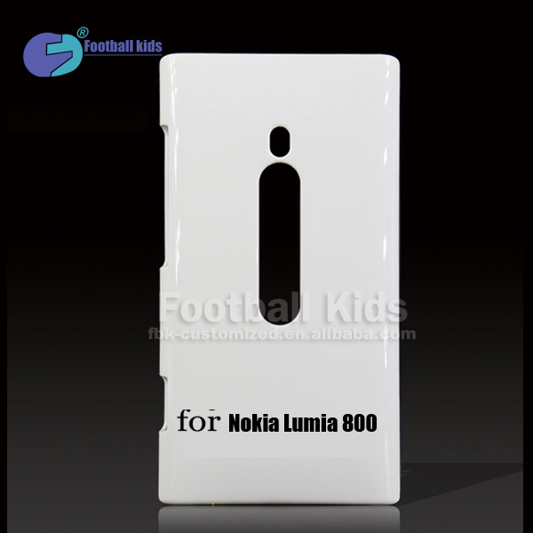Factory Wholesale high quality DIY 3D Sublimation Mobile Phone case Cover for Nokia Lumia 800